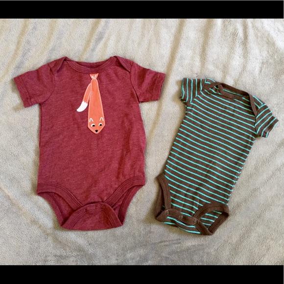 2b9d773f9 Carter's One Pieces | Newborn Baby Boy Whimsical Onesie Bundle Of 2 ...
